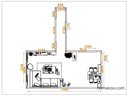 平面布置图德丽卡系列客餐厅G1628