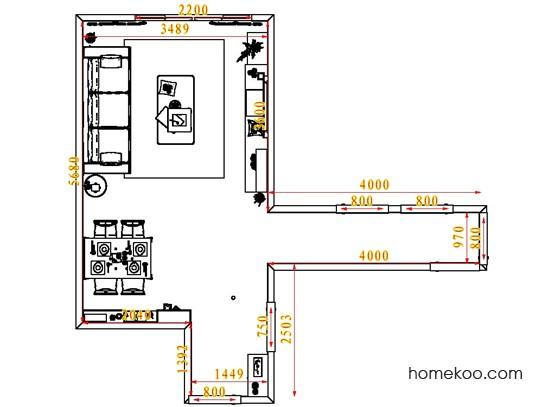 平面布置图斯玛特系列客餐厅G1635