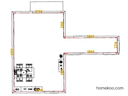 平面布置图格瑞丝系列客餐厅G1639