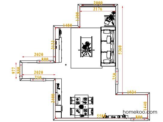 平面布置图斯玛特系列客餐厅G1691