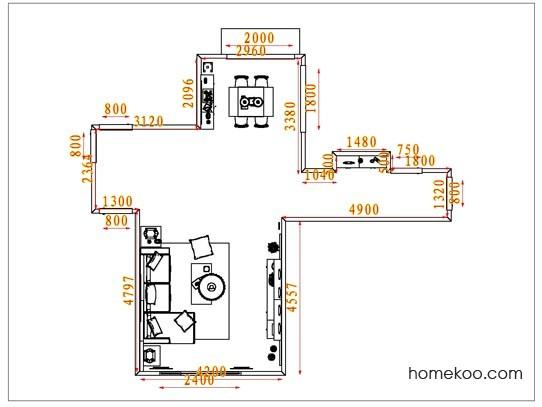 平面布置图贝斯特系列客餐厅G1710