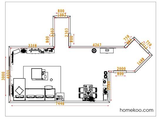 平面布置图乐维斯系列客餐厅G1741