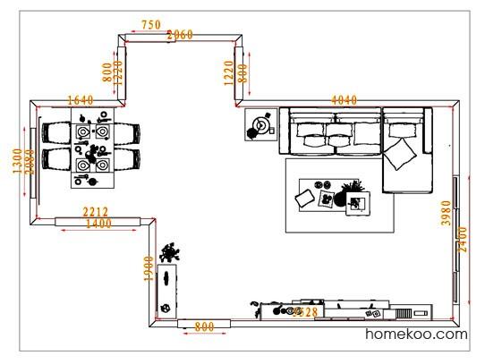 平面布置图乐维斯系列客餐厅G1768