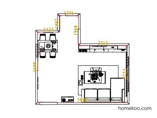 平面布置图乐维斯系列客餐厅G1774