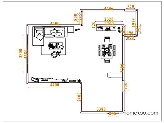 平面布置图乐维斯系列客餐厅G1798