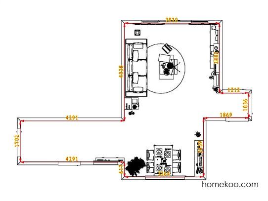 平面布置图贝斯特系列客餐厅G1848
