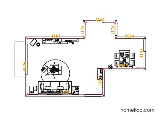 平面布置图贝斯特系列客餐厅G1883