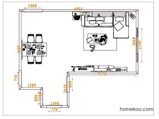 平面布置图乐维斯系列客餐厅G1902
