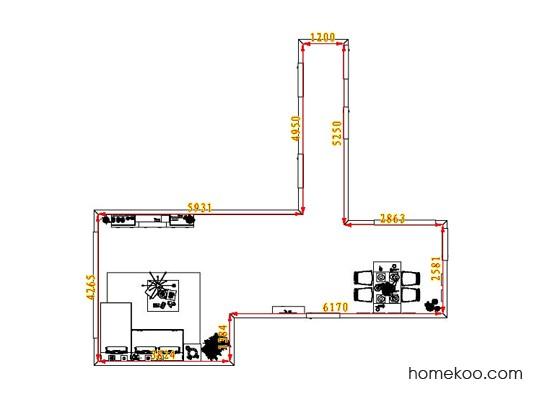 平面布置图乐维斯系列客餐厅G1908