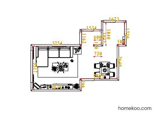 平面布置图乐维斯系列客餐厅G1912
