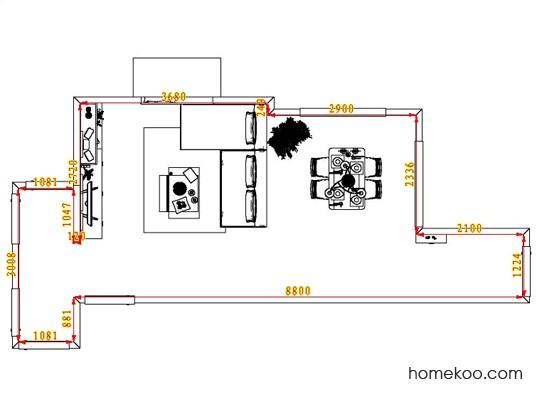 平面布置图乐维斯系列客餐厅G6507