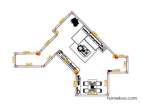 平面布置图格瑞丝系列客餐厅G6514