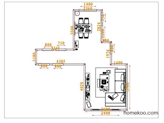 平面布置图贝斯特系列客餐厅G6542