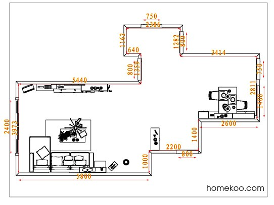平面布置图格瑞丝系列客餐厅G6544