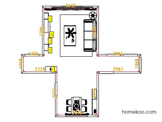 平面布置图贝斯特系列客餐厅G6550