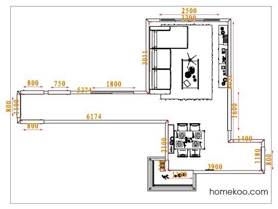 平面布置图柏俪兹系列客餐厅G6560