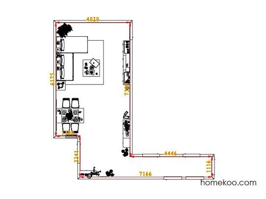 平面布置图贝斯特系列客餐厅G6567