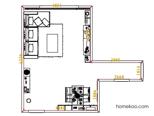 平面布置图贝斯特系列客餐厅G6579