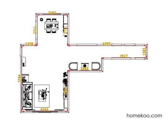 平面布置图格瑞丝系列客餐厅G6612
