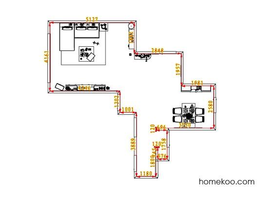 平面布置图乐维斯系列客餐厅G6632