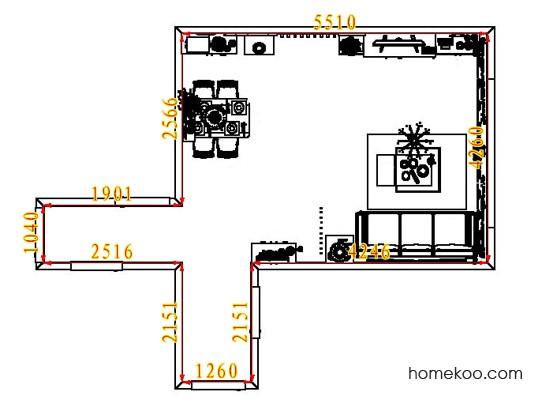 平面布置图贝斯特系列客餐厅G6646