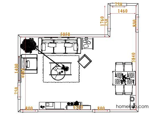 平面布置图乐维斯系列客餐厅G7901