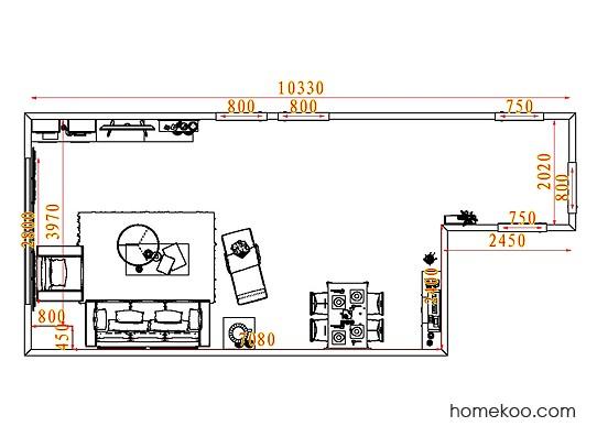 平面布置图乐维斯系列客餐厅G7935