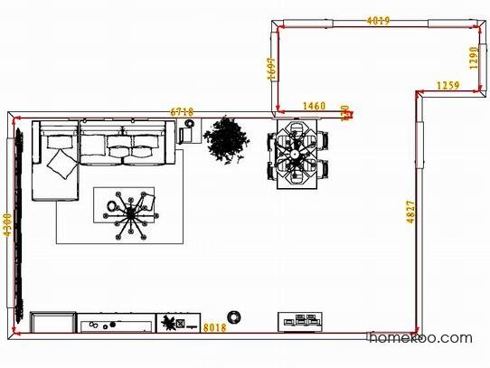 平面布置图贝斯特系列客餐厅G8220