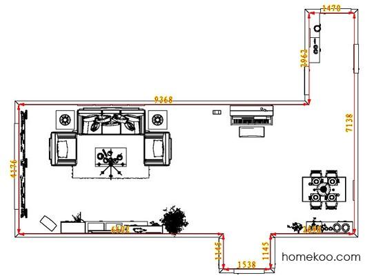平面布置图乐维斯系列客餐厅G8264
