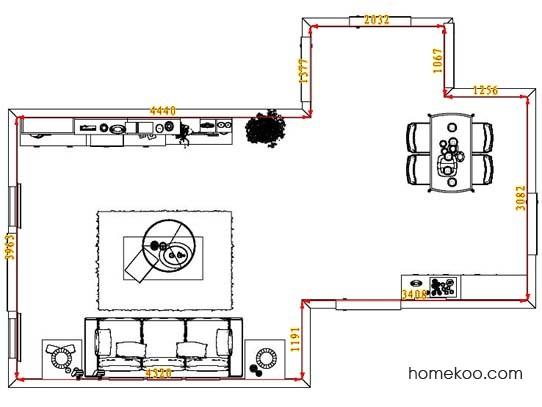 平面布置图柏俪兹系列客餐厅G8281