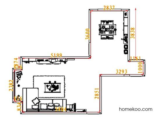 平面布置图斯玛特系列客餐厅G8316