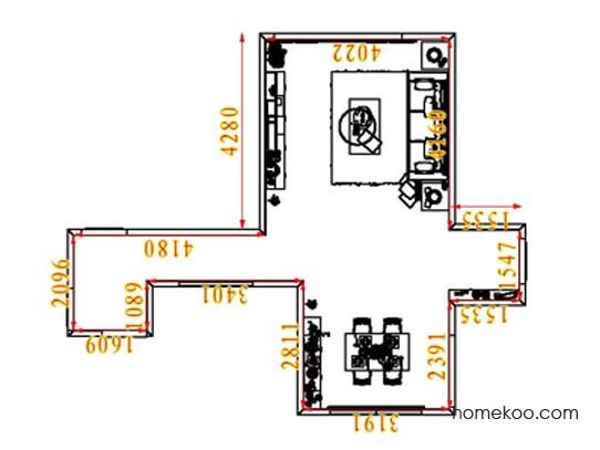 平面布置图乐维斯系列客餐厅G8378