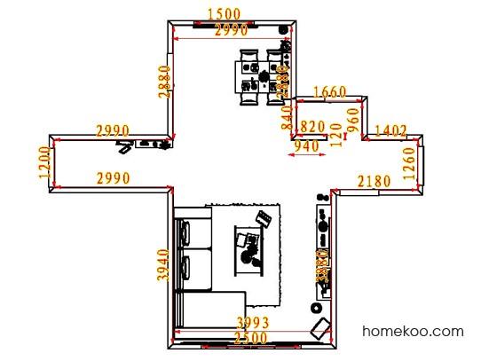 平面布置图乐维斯系列客餐厅G8483