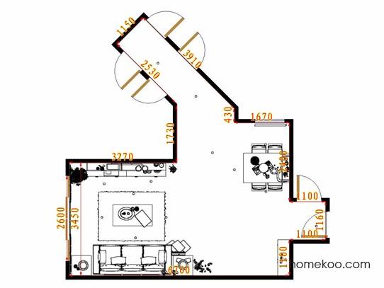 平面布置图乐维斯系列客餐厅G8607