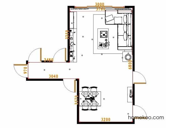 平面布置图乐维斯系列客餐厅G8693