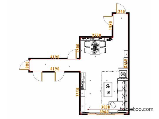 平面布置图乐维斯系列客餐厅G8707
