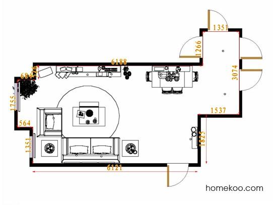 平面布置图乐维斯系列客餐厅G8877