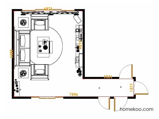 平面布置图格瑞丝系列客餐厅G8892