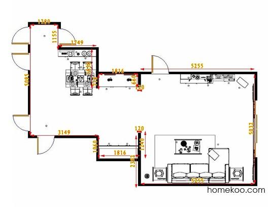 平面布置图乐维斯系列客餐厅G9441