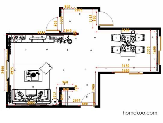 平面布置图乐维斯系列客餐厅G10537