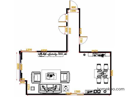 平面布置图格瑞丝系列客餐厅G10552