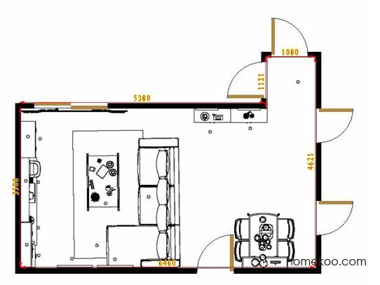 平面布置图格瑞丝系列客餐厅G10577