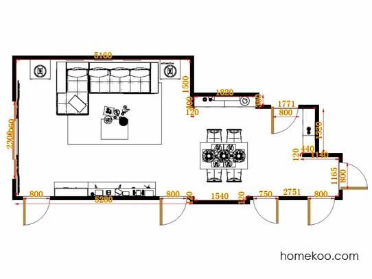 平面布置图乐维斯系列客餐厅G10681