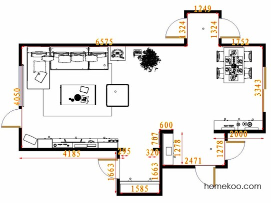 平面布置图乐维斯系列客餐厅G11331
