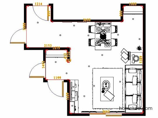平面布置图乐维斯系列客餐厅G11525