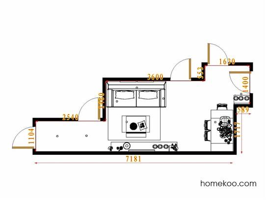平面布置图格瑞丝系列客餐厅G11591