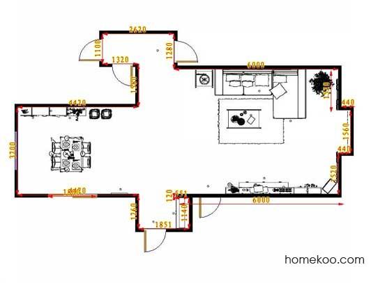 平面布置图乐维斯系列客餐厅G12813