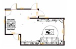 平面布置图格瑞丝系列客餐厅G12909