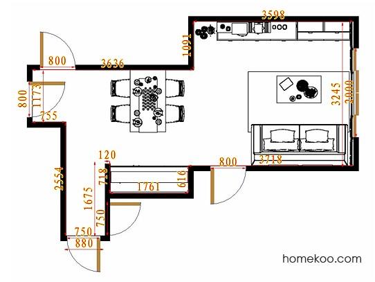 平面布置图乐维斯系列客餐厅G12930