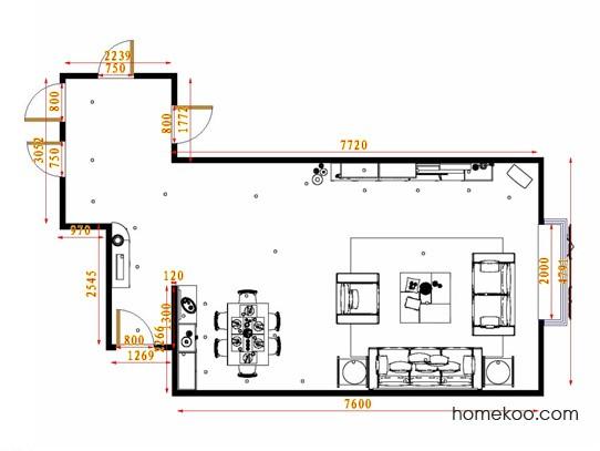 平面布置图贝斯特系列客餐厅G12970